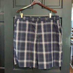 Ben Hogan navy plaid golf shorts 40